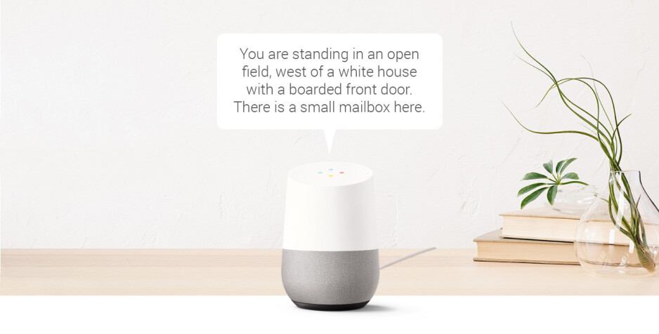 Text-based adventure games may be coming to Google Home soon