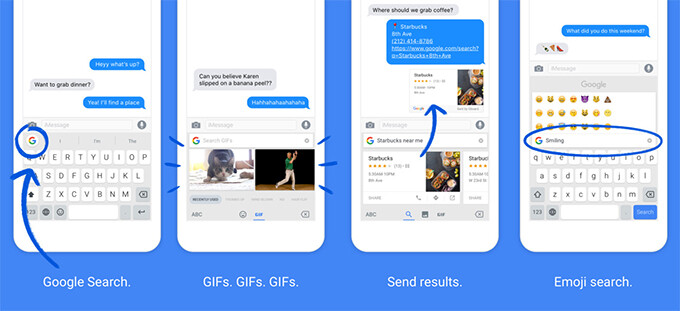 Rejoice! The Gmail app receives GBoard GIF support