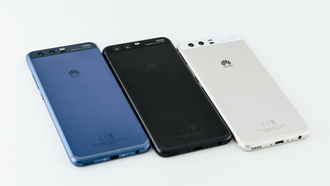 Huawei's latest flagship, the P10 - Huawei blames smartphones for its slowing profit growth