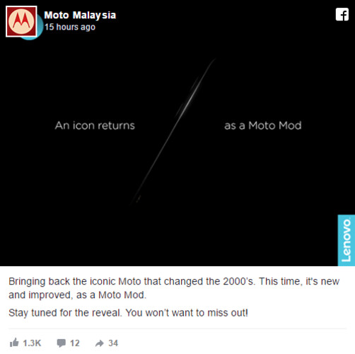 April Fool's prank or a real Moto Mod? - Is the Motorola RAZR Moto Mod real or an early April Fool's joke?