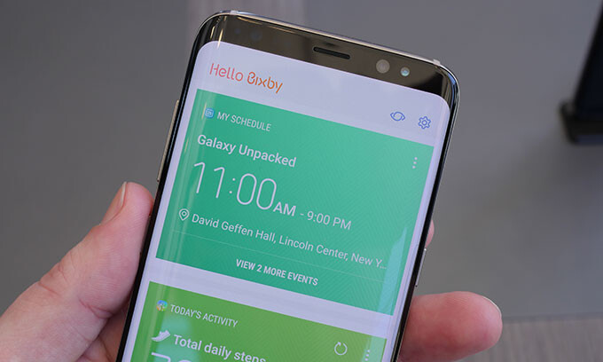 Samsung Bixby hands-on: What you can do with the new GS8 virtual assistant