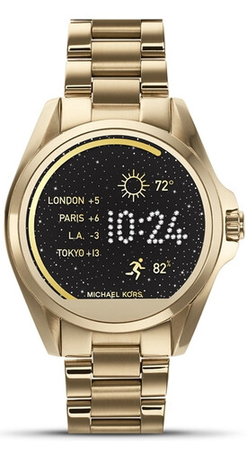 The Michael Kors Access Bradshaw is one of the six smartwatches now receiving Android Wear 2.0