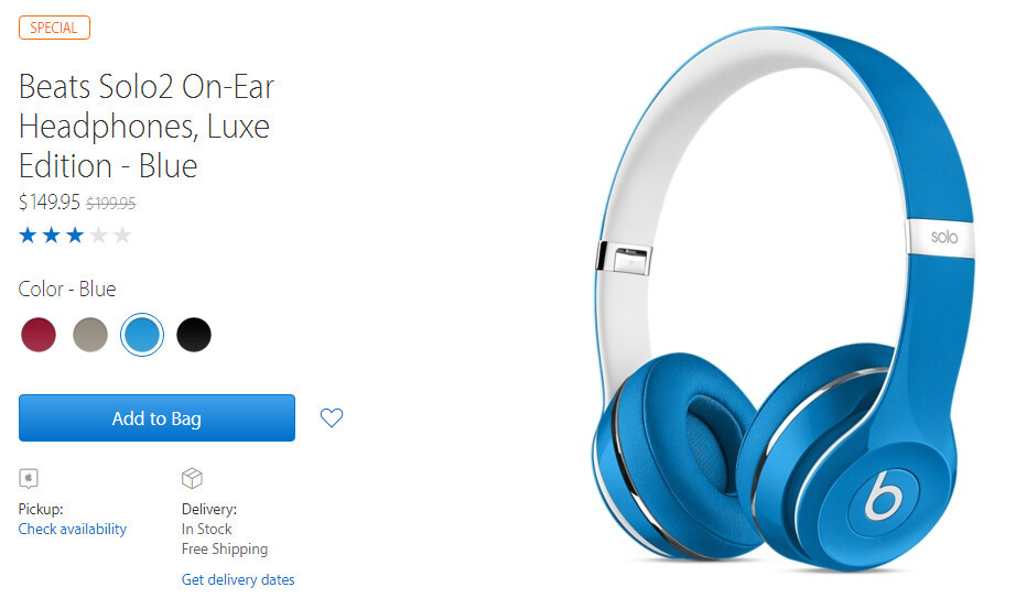 Deal: Beats headphones, portable speaker on sale at Apple for at least 25% off
