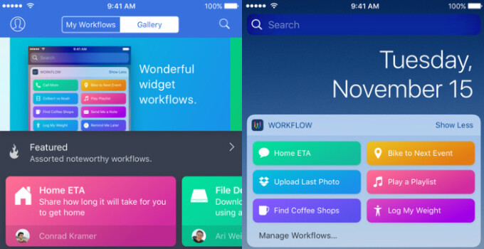 Apple is refunding users who recently bought iOS automation app Workflow