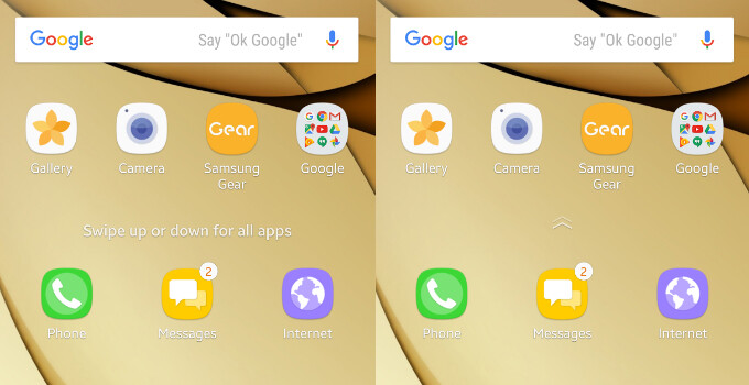 Here's how to easily install the new Galaxy S8 launcher on your Galaxy S7/S7 edge (Nougat)