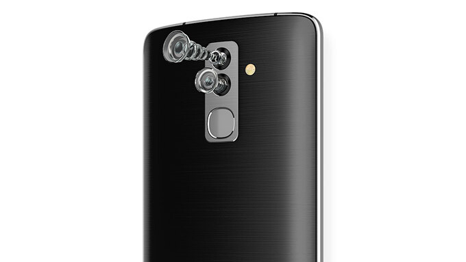 Alcatel quietly released the first ever smartphone with both front and rear dual cameras