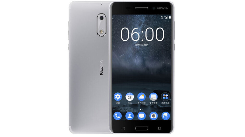 White Nokia 6 expected to hit the shelves in April, China gets it first