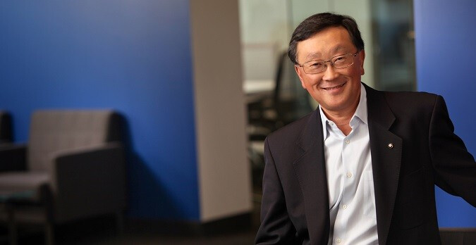 Mission complete - John Chen successfully turned around BlackBerry