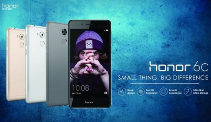 Honor 6C goes official in Europe with mid-range specs, metal body