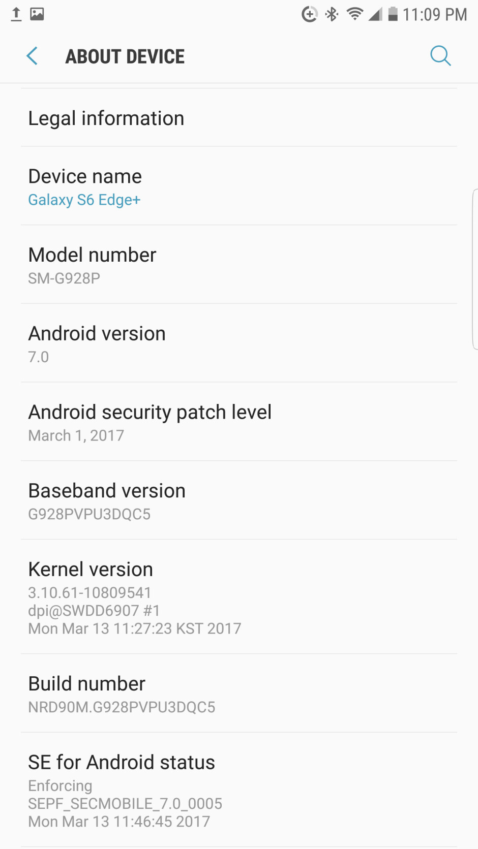 Sprint rolls out Android 7.0 Nougat update to the Samsung Galaxy S6 edge+