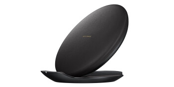 Samsung's fast wireless charger looks like a space dish