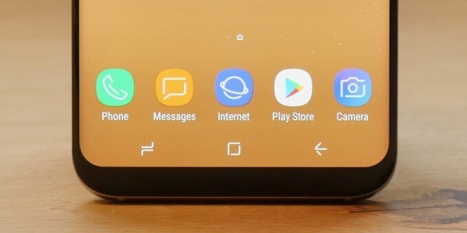 You can really count on that Home button! - 8 fantastic Samsung Galaxy S8 features that went under the radar