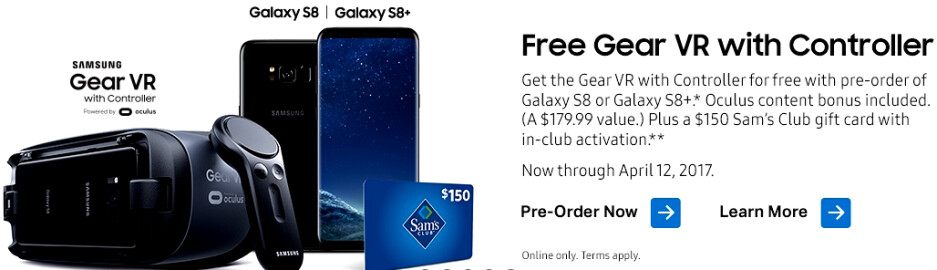 What's the best deal on a Galaxy S8 or S8+ preoder? BestBuy vs Walmart, Costco, Target and Sam's Club