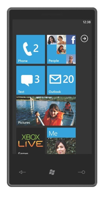 Microsoft Windows Phone 7 Series announced