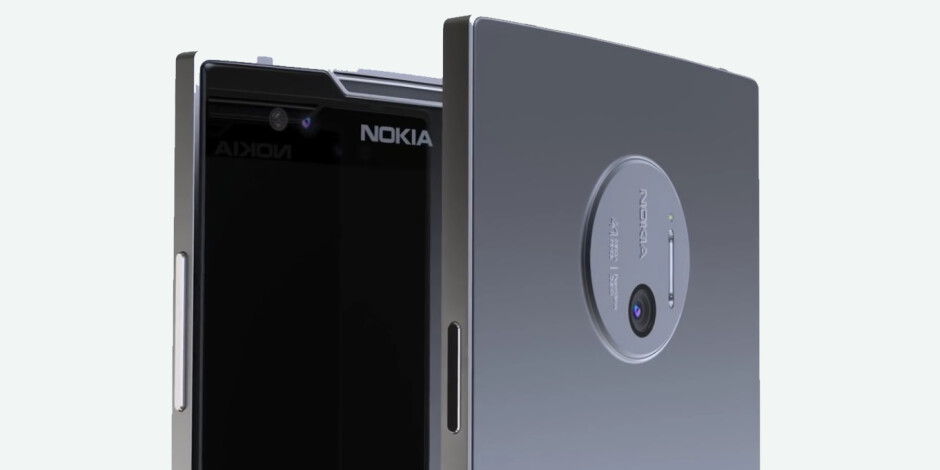 Nokia 9 concept render, based off the older Lumia look - Best Nokia phones coming in 2017