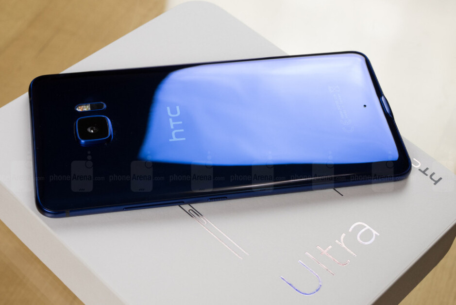 The sapphire edition of the HTC U Ultra will sell in Europe for €849