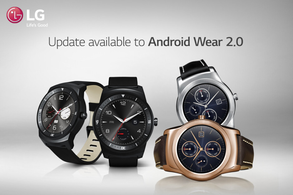 LG confirms Android Wear 2.0 rollout for Watch R and Watch Urbane, the 2nd Gen will get it in May