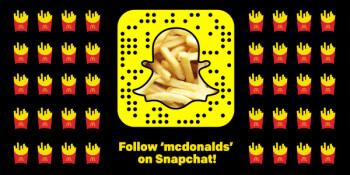 Sign of the times: McDonald's Australia now hiring through Snapchat