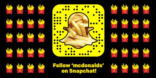 Sign of the times: Australian McDonald's now hiring through Snapchat