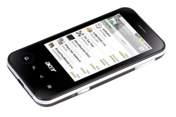 The Acer beTouch E110 and E400