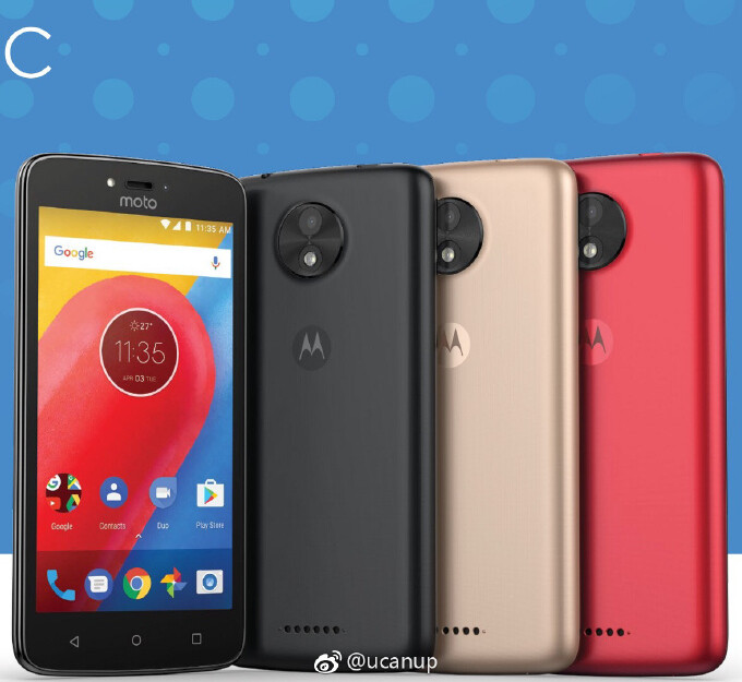 Motorola Moto C allegedly pictured, seems to be a new cheap phone