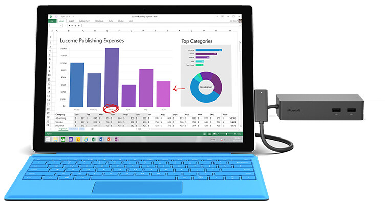 Deal Buy A Surface Pro 4 And Get A Free Surface Dock