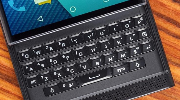 The BlackBerry Priv keyboard may not be BlackBerry's best, but it will still do the job - Verizon's BlackBerry Priv just $259.99 on eBay