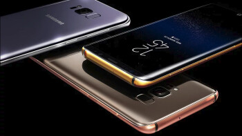 The Galaxy S8 not premium enough for you? How about a $2,800 gold-plated version?