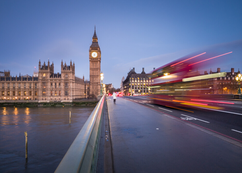 Big Ben as viewed from Westminster Bridge; ISO-50, 1/2 sec - Samsung touts Galaxy S8 camera prowess in a series of stunning photos