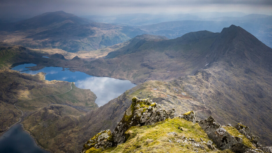 View from summit of Mount Snowdon - Samsung touts Galaxy S8 camera prowess in a series of stunning photos