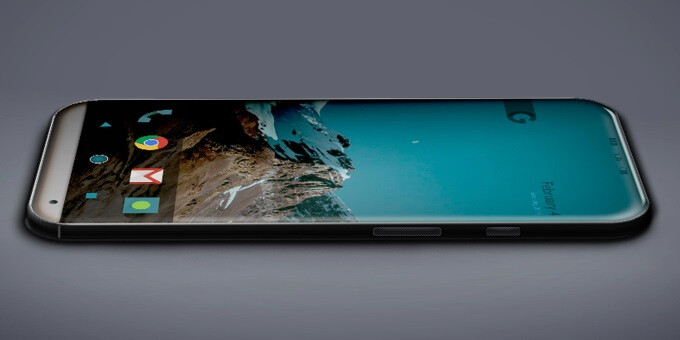 Google Pixel 2 concept design - Top 5 smartphones with curved screens and edgeless displays coming in 2017