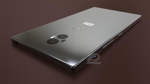 Xiaomi Mi Mix 2 concept images