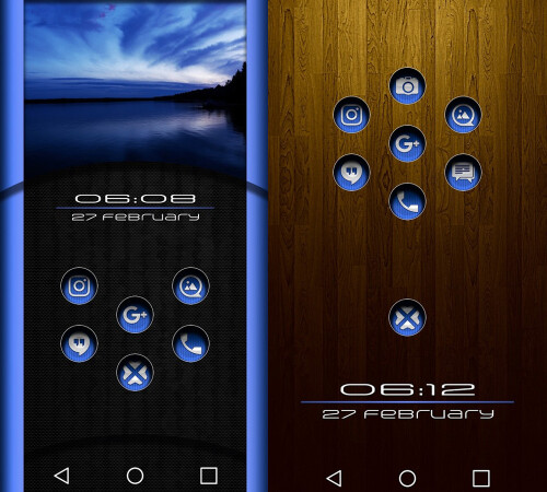 Under Blue Icon Pack