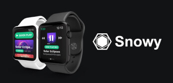 Spotify is finally coming to the Apple Watch as a third-party app named Snowy