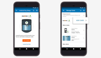 Add a card to Android Pay from the mobile banking app