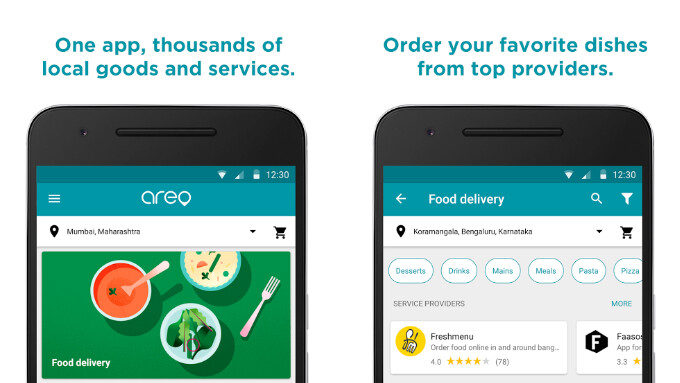 Google Areo is a new food delivery and home services app aimed at the Indian market