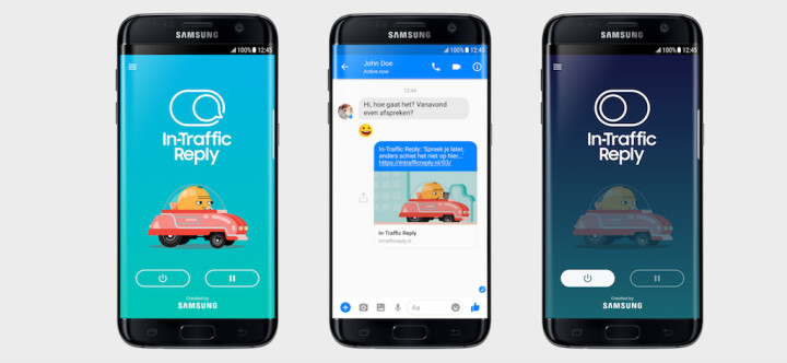 Samsung wants to help you drive safely with its new In-Traffic Reply app