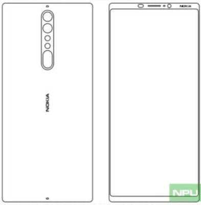 Sketch claims to show the Nokia 9