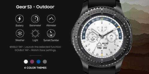 3 new smartwatches are now available for the Samsung Gear S3