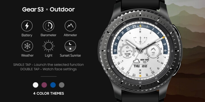 Samsung launches 3 new Gear S3 watchfaces