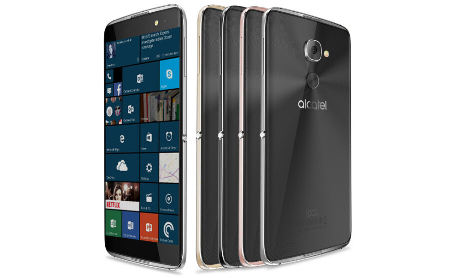 T-Mobile drops the Alcatel Idol 4S with Windows 10