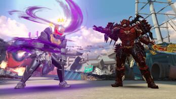 Robo Knight vs. Xandred