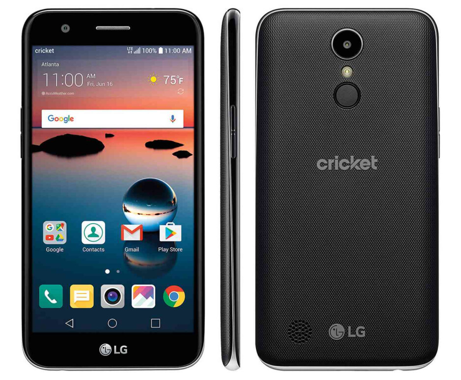 That's a lot of phone for $100! - $100 nets you a big screen and a fingerprint scanner if you get the new LG Harmony on Cricket