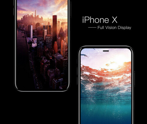 3D models of the iPhone 8