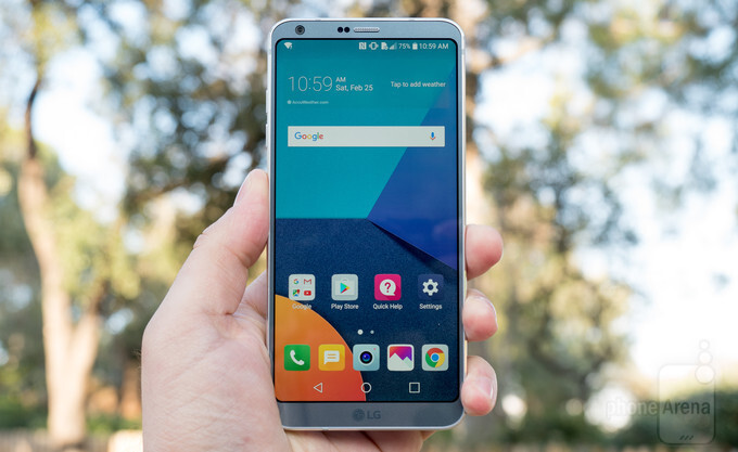 LG G6 on Verizon getting its first update with April's security patches for Android