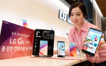 LG G6 to gain 100 customized apps for its 18:9 display