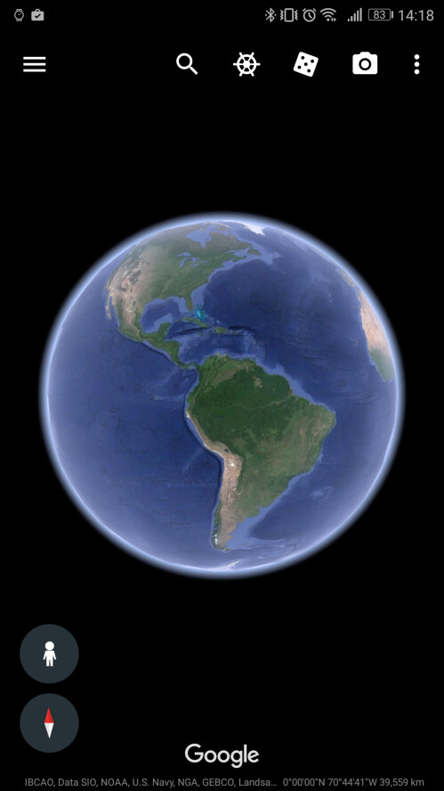 The new Google Earth
