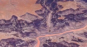 Some of the 3D views that Google Earth is capable of creating (mostly) on its own look very impressive (unless you zoom to ground level)