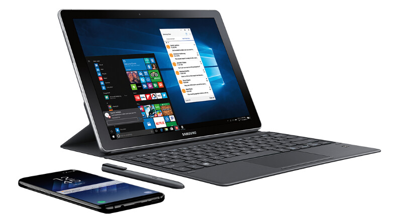 Specs for the 12-inch and 10.6-inch Samsung Galaxy Book 2-in-1 Windows tablet
