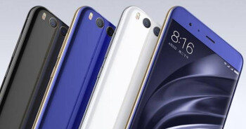 The Xiaomi Mi 6 (above) could soon be accompanied by a larger version